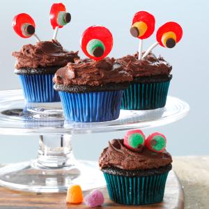 Devil's Food Cupcakes with Chocolaty Frosting Recipe