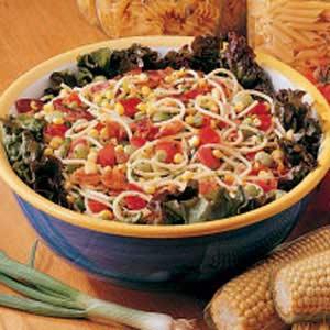 Garden Spaghetti Salad Recipe