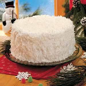 Holiday Snowflake Cake Recipe