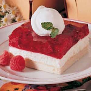 Cool and Creamy Raspberry Delight Recipe