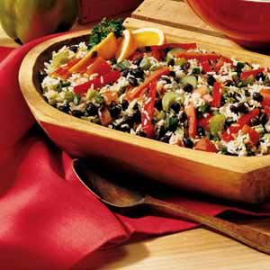 Citrus Black Bean and Rice Salad