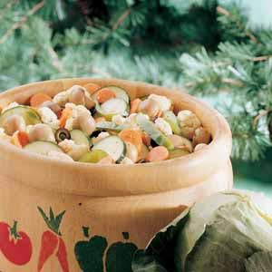 Easy Marinated Vegetables Recipe