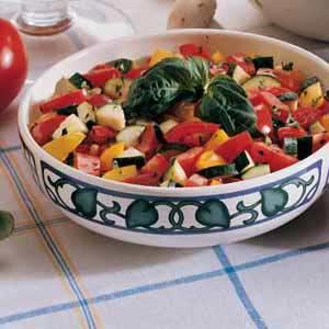 Calico Tomato Salad Recipe