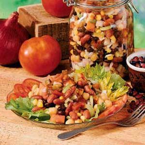 Southwestern Bean Salad Recipe