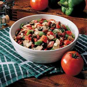 Southwestern Pork Salad Recipe