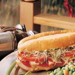 Deli Club Sandwich Recipe