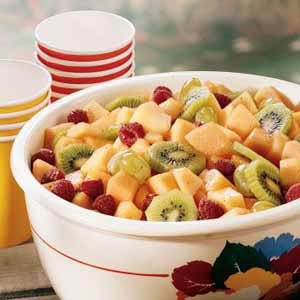 Fruit Salad with Honey Lime Dressing Recipe