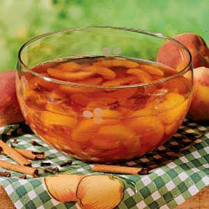 Spiced Peach Salad Recipe