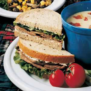 Champion Roast Beef Sandwiches Recipe