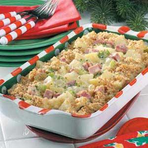 Hearty Ham Casserole Recipe