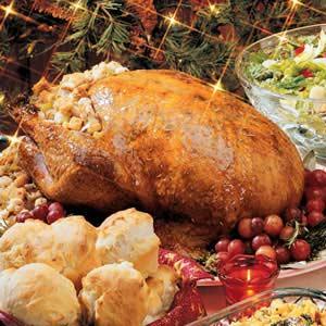 Honey-Glazed Turkey Recipe