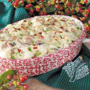 Festive Cauliflower Casserole Recipe