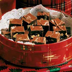 Microwave Mint Fudge