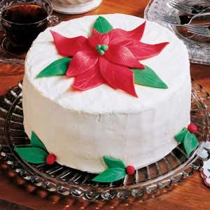 White Chocolate Holiday Cake Recipe