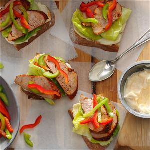Cajun Pork Sandwiches Recipe