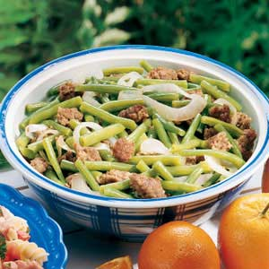 Sausage Bean Delight Recipe