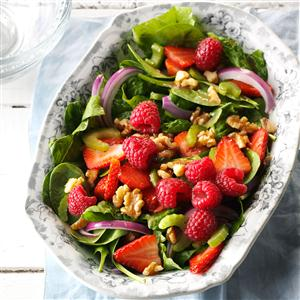 Green Salad with Berries Recipe