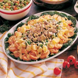 Pork 'n' Sweet Potato Salad Recipe