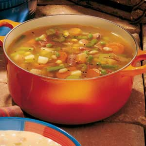 Ham and Vegetable Soup Recipe