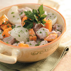 Sweet Potato Pork Stew Recipe