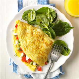 Mediterranean Omelet Recipe