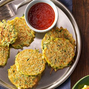Golden Zucchini Pancakes Recipe