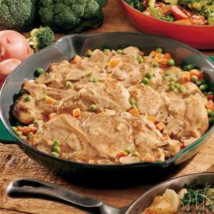 Stovetop Pork Dinner Recipe