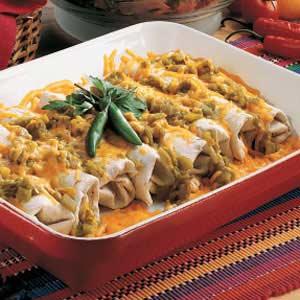 Green Chili Burritos Recipe