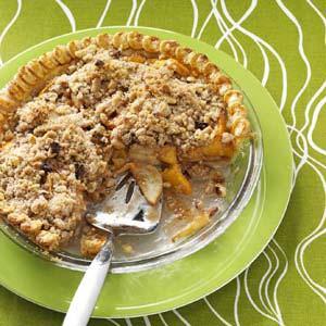 Jayne's Peach-Pear Pie