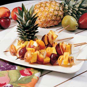 Grilled Fruit Kabobs Recipe