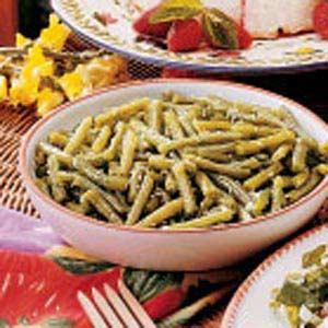 Summertime Green Beans Recipe