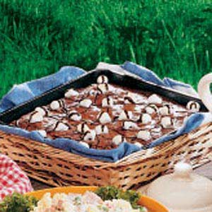 Really Rocky Road Brownies Recipe