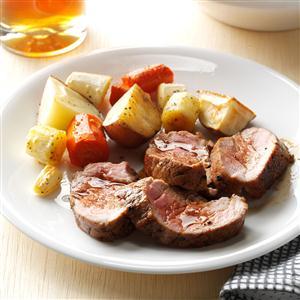 Balsamic-Glazed Pork Tenderloin Recipe