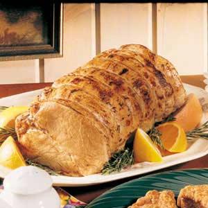 Citrus Pork Roast Recipe
