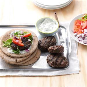 Mediterranean Meatball Sandwiches Recipe
