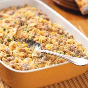 Sausage-Corn Bake Recipe