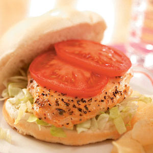 Honey-Mustard Chicken Sandwiches Recipe