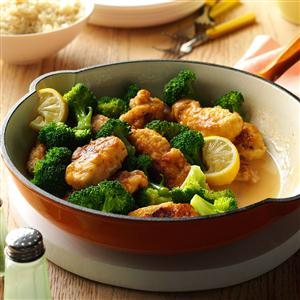 My Mother's Lemony Chicken with Broccoli Recipe