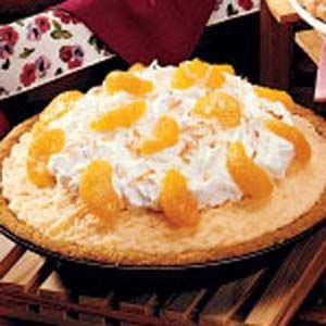 Sunshine Ice Cream Pie Recipe