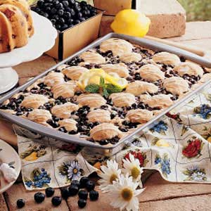Very Blueberry Cake Recipe