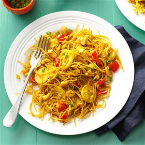 Curried Rice & Noodles Recipe