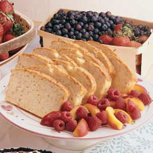 Sesame Pound Cake Recipe