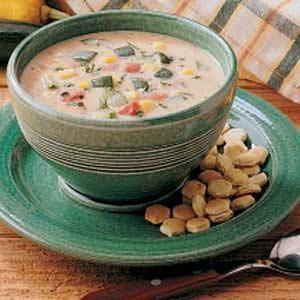 Zucchini Garden Chowder Recipe