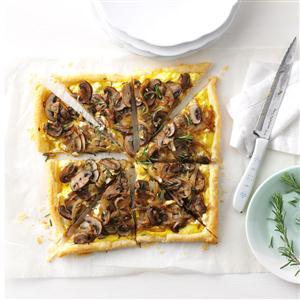 Portobello & Onion Tart Recipe