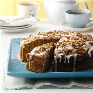 Buttercup Squash Coffee Cake Recipe