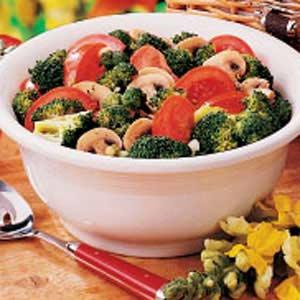 Broccoli Tomato Salad Recipe