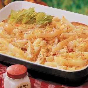 Creamy Potato Sticks Recipe