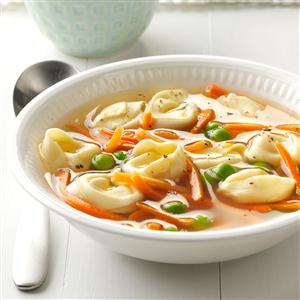 Tortellini Primavera Soup Recipe
