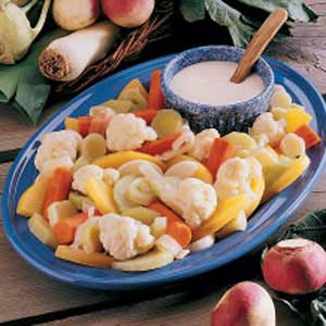 Hot Vegetable Plate