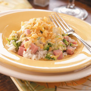 Ham and Broccoli Supper
